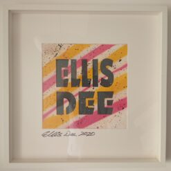 Signed Ellis Dee Framed Piece of Artwork