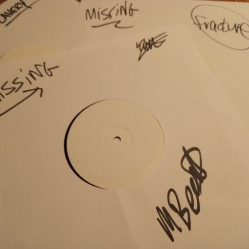 Signed White Labels - Triple Pack